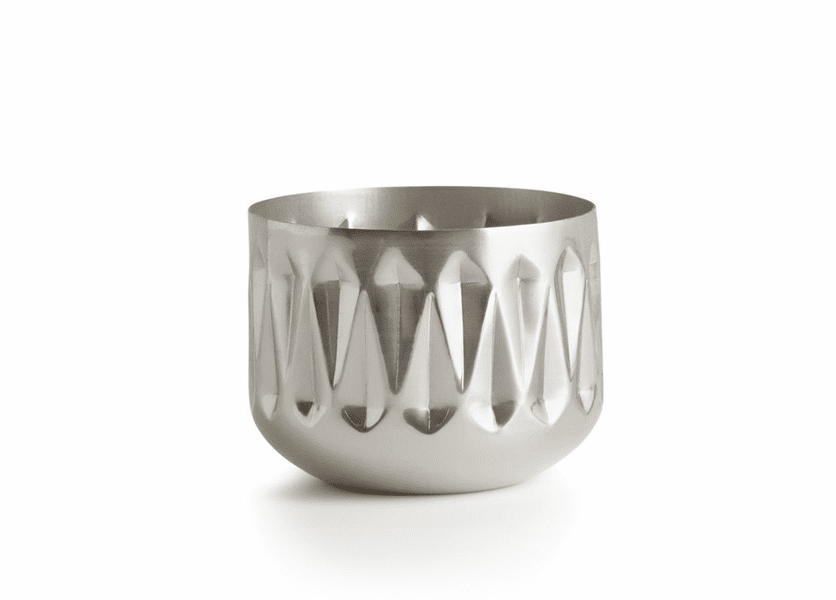 _DISCONTINUED - Balsam & Cedar Medium Radiant Metal Illume Candle