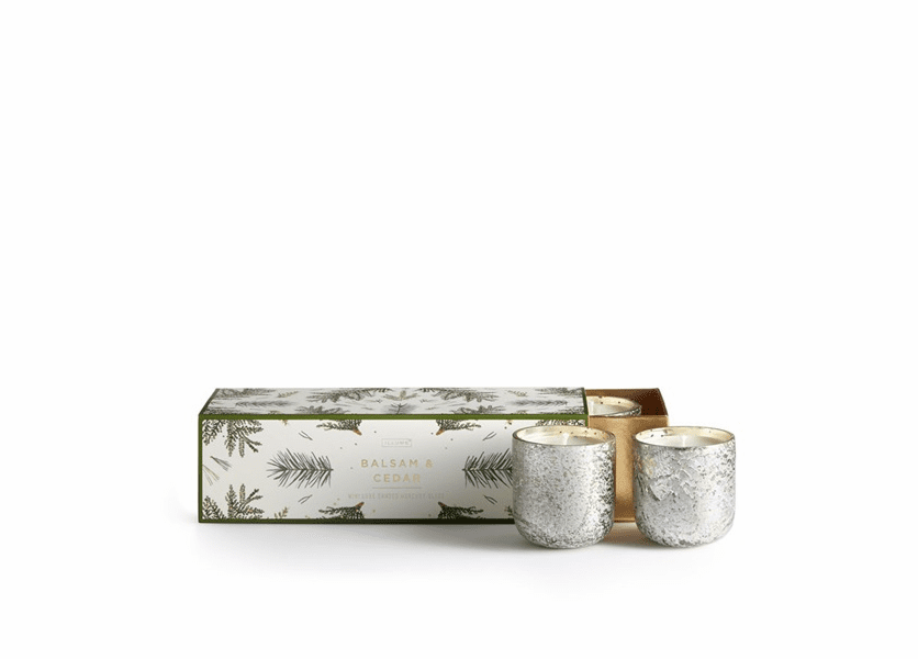 _DISCONTINUED - Balsam & Cedar Mini Luxe 3-Pack Illume Candle