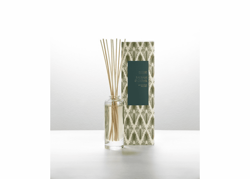 _DISCONTINUED - Balsam & Cedar Reed Diffuser Illume Candle