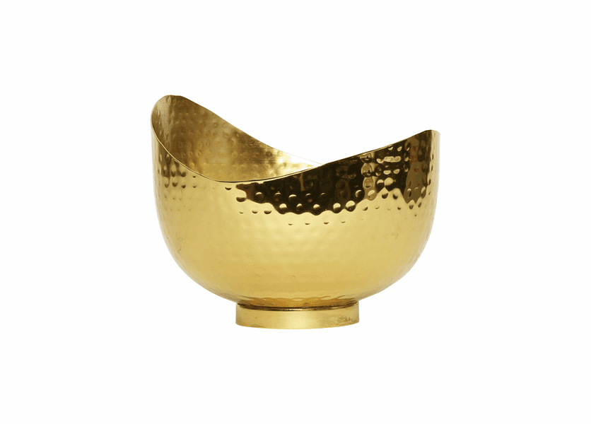 _DISCONTINUED - Balsam Embers 18 oz. Maker's Collection Wave Bowl by Aspen Bay Candles