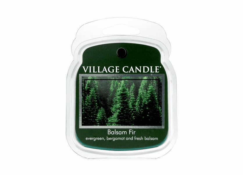 _DISCONTINUED - Balsam Fir Fragranced Wax Melts by Village Candles
