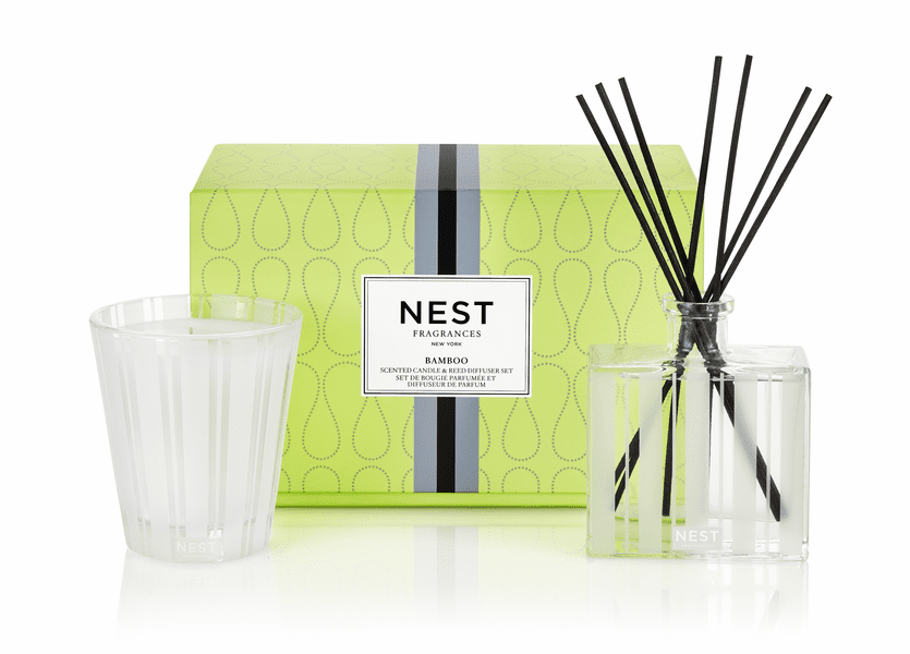 _DISCONTINUED - Bamboo Classic Candle & Diffuser Gift Set by NEST