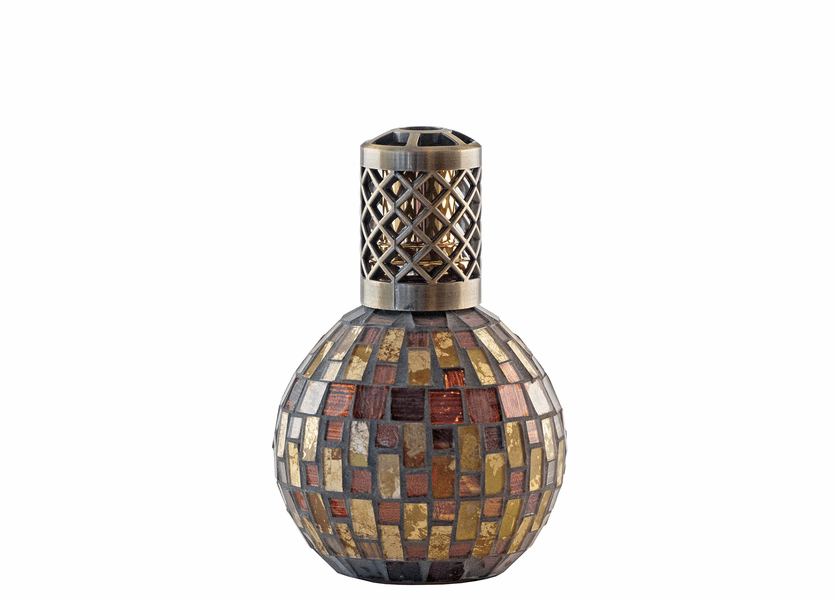 _DISCONTINUED - Basket Weave Fragrance Lamp by Sophia's