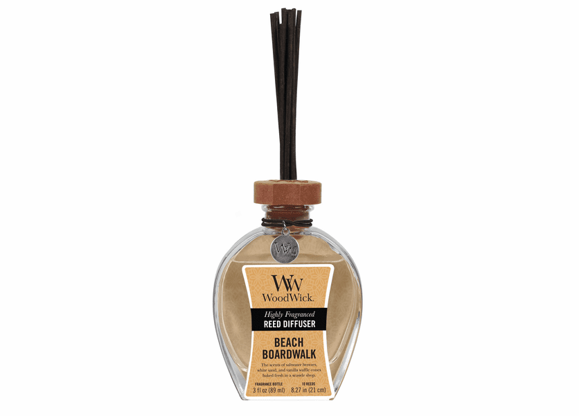 _DISCONTINUED - Beach Boardwalk WoodWick 3 oz. Reed Diffuser