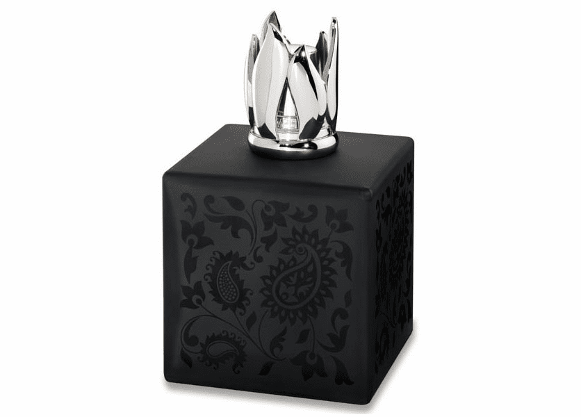 _DISCONTINUED - Beaux Art Cube Black Fragrance Lamp by Lampe Berger