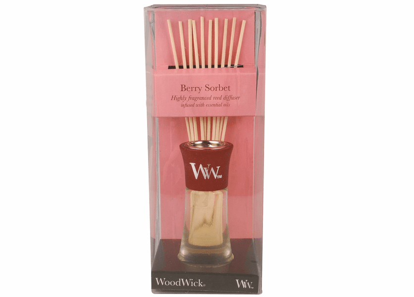 _DISCONTINUED - Berry Sorbet WoodWick 2 oz. Reed Diffuser