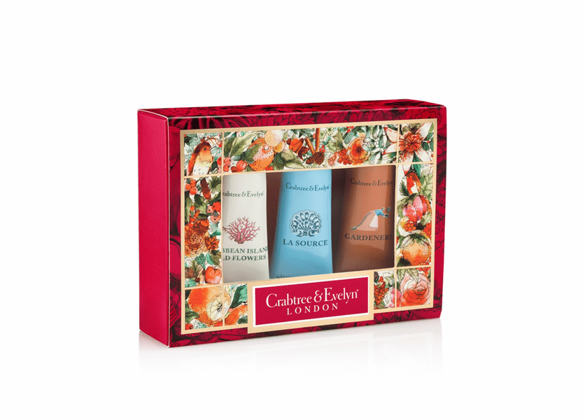 _DISCONTINUED - Best Sellers #1 Sampler (Set of 3) - Holiday Collection by Crabtree & Evelyn