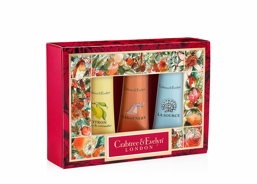 _DISCONTINUED - Best Sellers #2 Sampler (Set of 3) - Holiday Collection by Crabtree & Evelyn