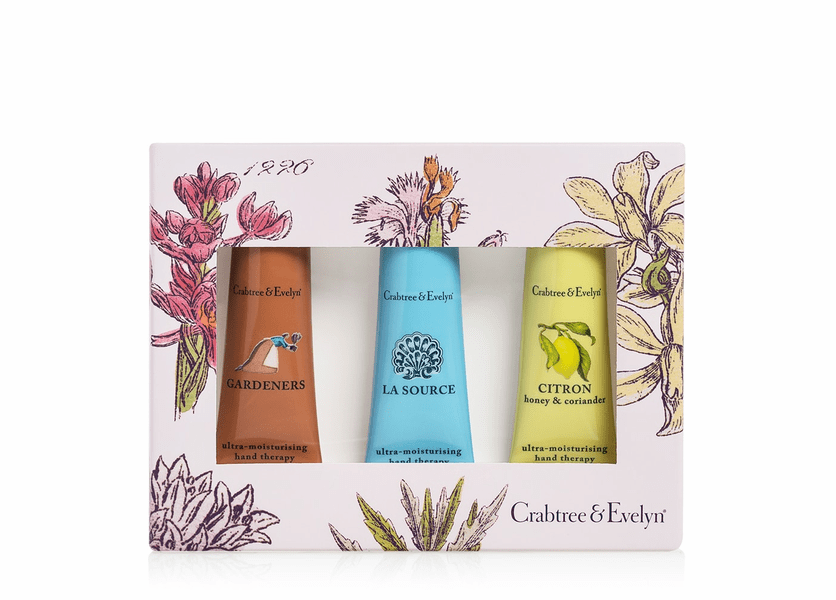 _DISCONTINUED - Best Sellers Hand Therapy Sampler (Set of 3) by Crabtree & Evelyn