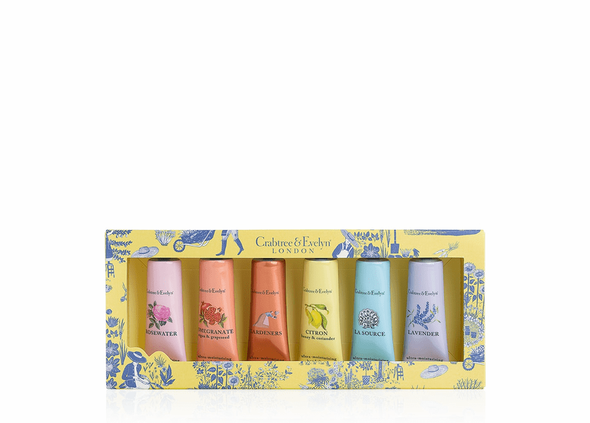 _DISCONTINUED - Best Sellers Hand Therapy Sampler (Set of 6) by Crabtree & Evelyn