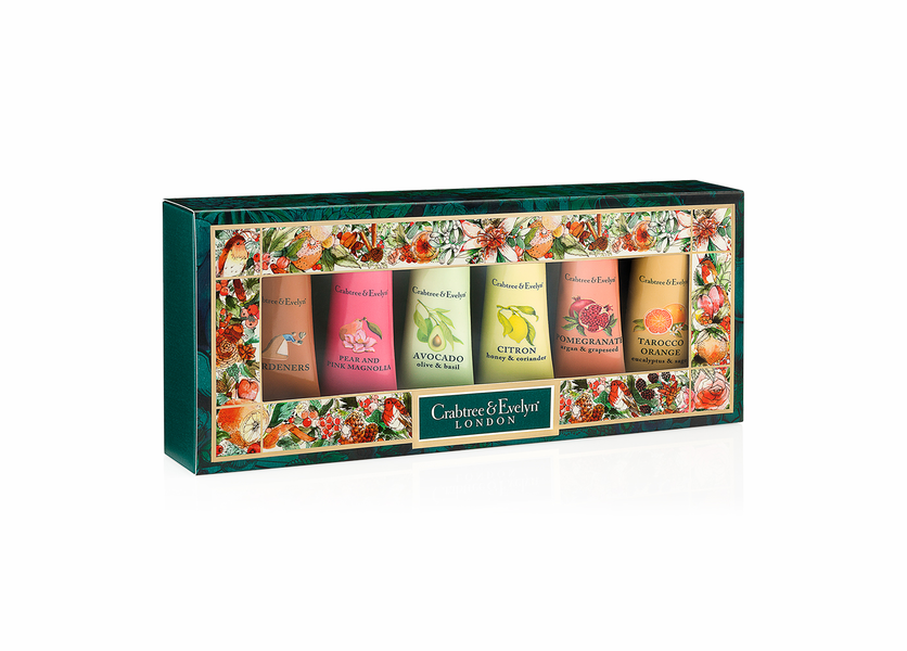 _DISCONTINUED - Best Sellers Sampler (Set of 6) - Holiday Collection by Crabtree & Evelyn