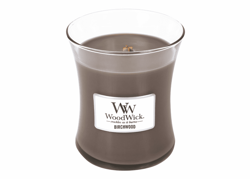 _DISCONTINUED - Birchwood WoodWick Candle 10oz.