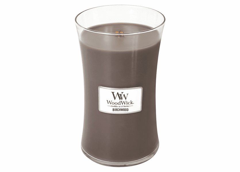 _DISCONTINUED - Birchwood WoodWick Candle 22oz.