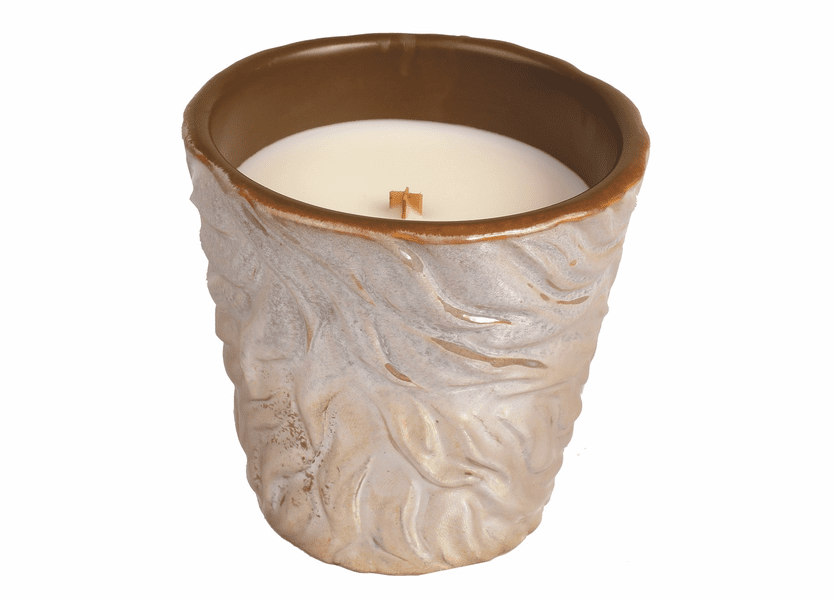 _DISCONTINUED - *Biscotti Beige Fall Tumbler WoodWick Candle