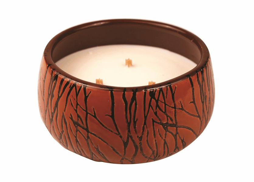 _DISCONTINUED - *Biscotti Medium Bowl Premium WoodWick Candle