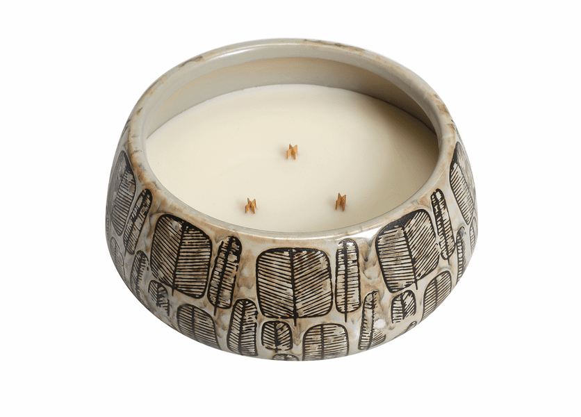 _DISCONTINUED - *Biscotti Round Premium WoodWick Candle