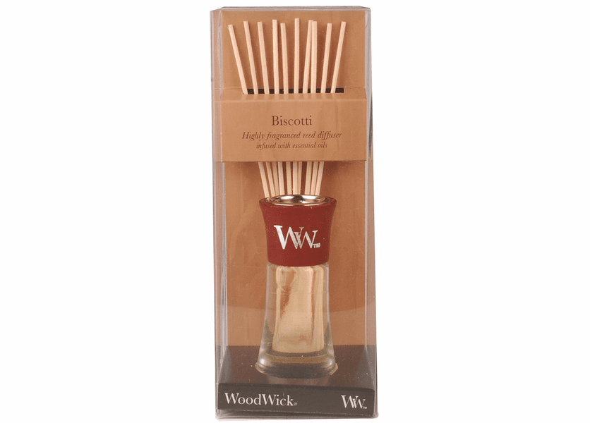 _DISCONTINUED - Biscotti WoodWick 2 oz. Reed Diffuser