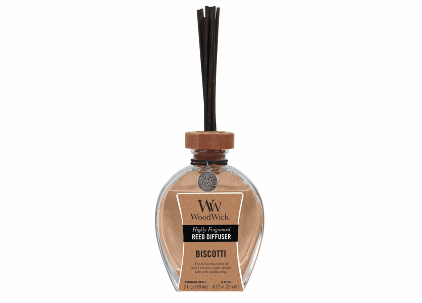 _DISCONTINUED - Biscotti WoodWick 3 oz. Reed Diffuser