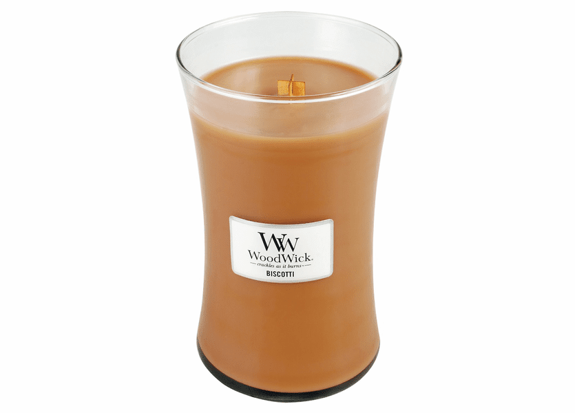 _DISCONTINUED - Biscotti WoodWick Candle 22oz.