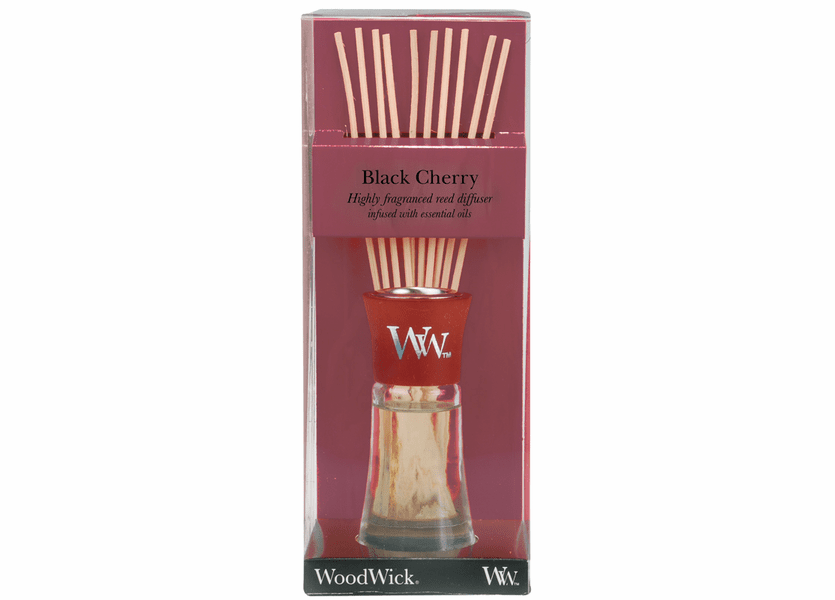 _DISCONTINUED - Black Cherry WoodWick 2 oz. Reed Diffuser
