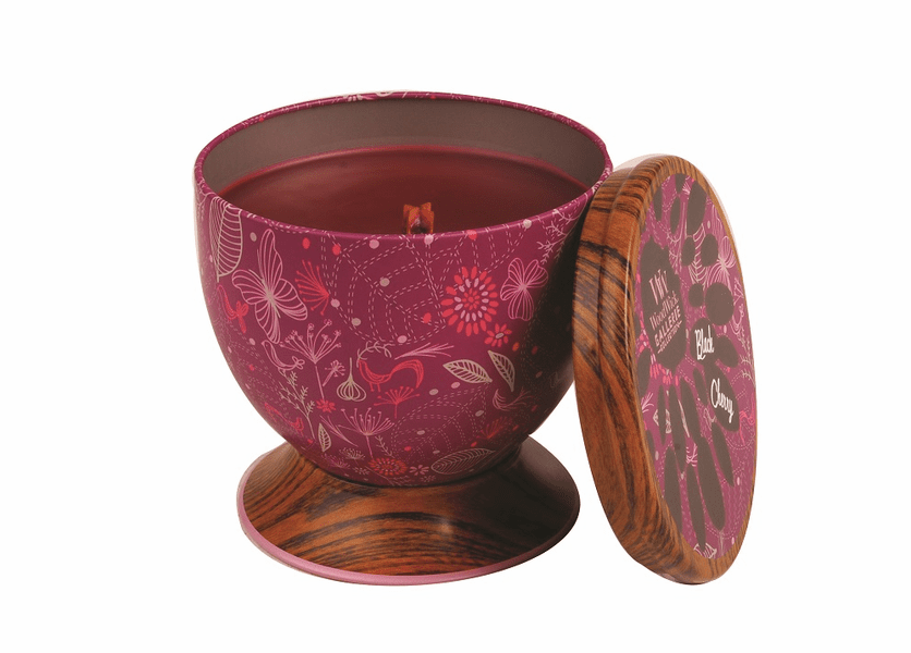 _DISCONTINUED - Black Cherry WoodWick Gallerie Collection Candle