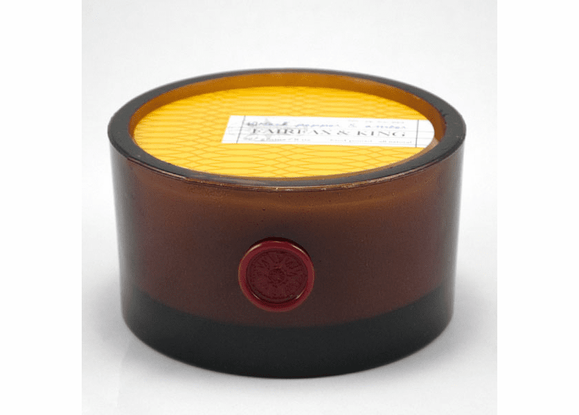 _DISCONTINUED - Black Pepper & Amber 3-Wick Bowl Candle - Fairfax & King