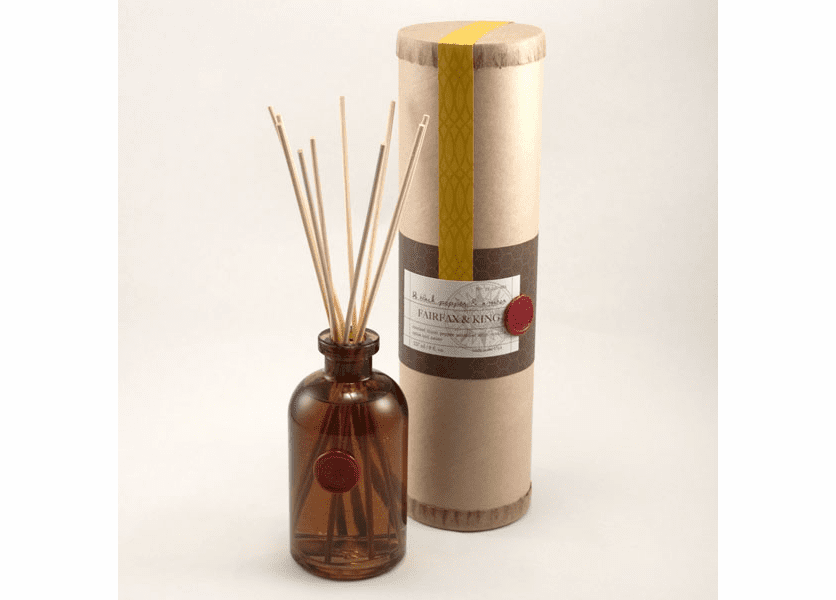 _DISCONTINUED - Black Pepper & Amber 8 oz. Boxed Diffuser  - Found Goods Market