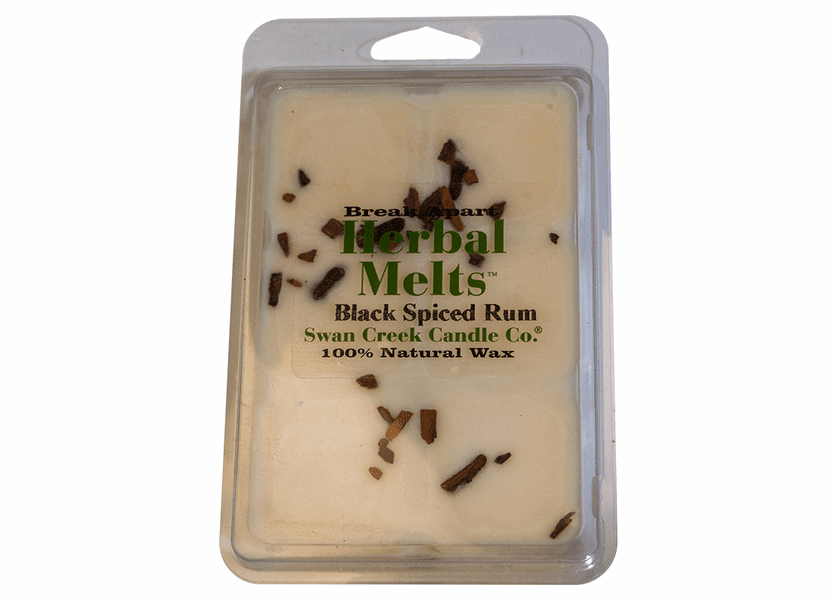 _DISCONTINUED - Black Spiced Rum 5.25 oz. Swan Creek Candle Drizzle Melts