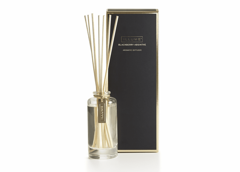 _DISCONTINUED - Blackberry Absinthe Essential Reed Diffuser Illume Candle