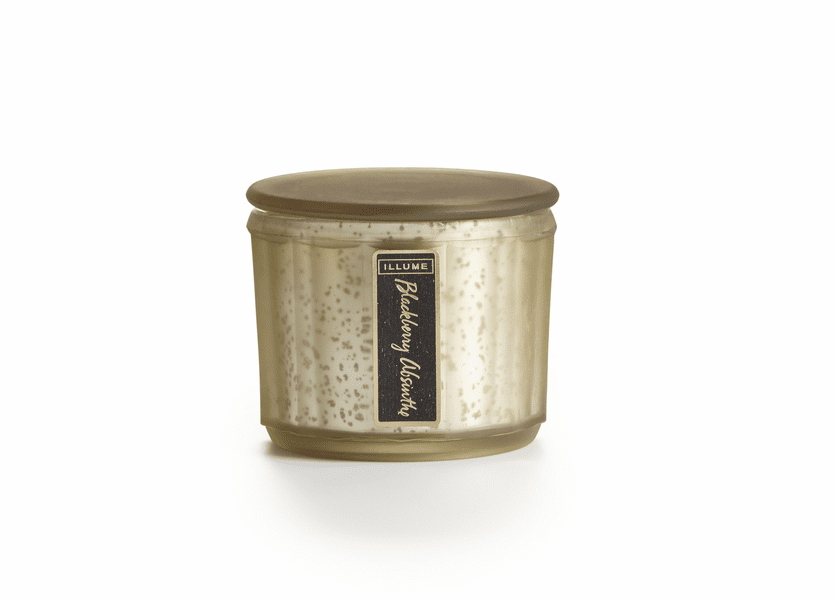 _DISCONTINUED - Blackberry Absinthe Lustre Jar Illume Candle