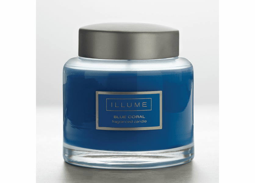 _DISCONTINUED - Blue Coral Essential Glass Jar Illume Candle