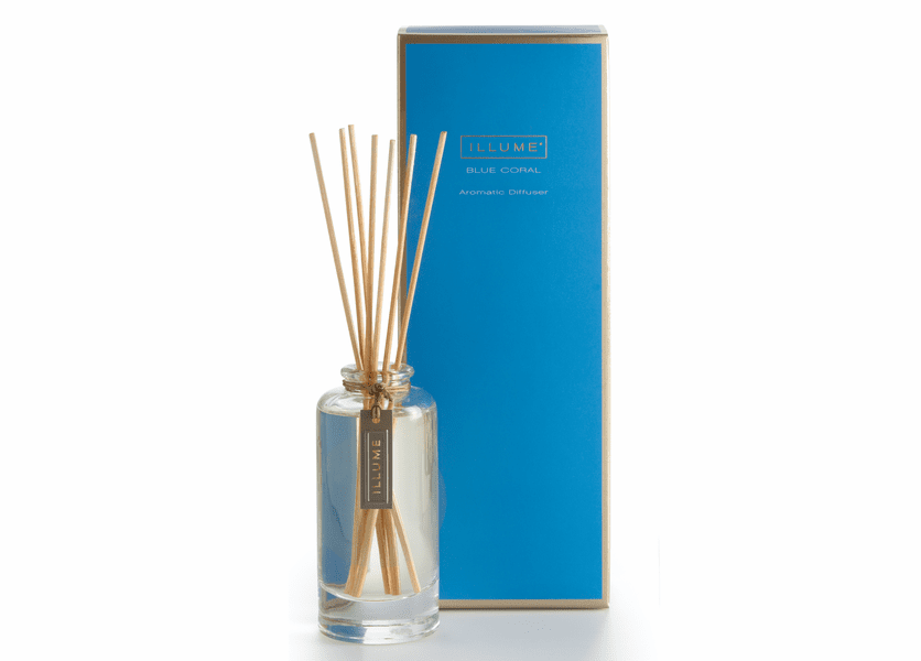 _DISCONTINUED - Blue Coral Essential Reed Diffuser Illume Candle