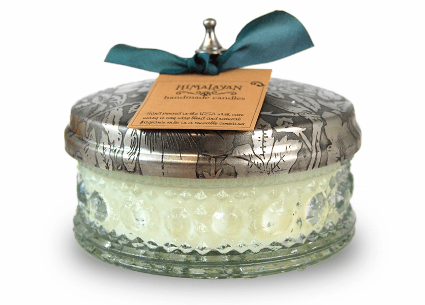 _DISCONTINUED - Bluebell Forest 8 oz. Powder Box Candle by Himalayan Candles