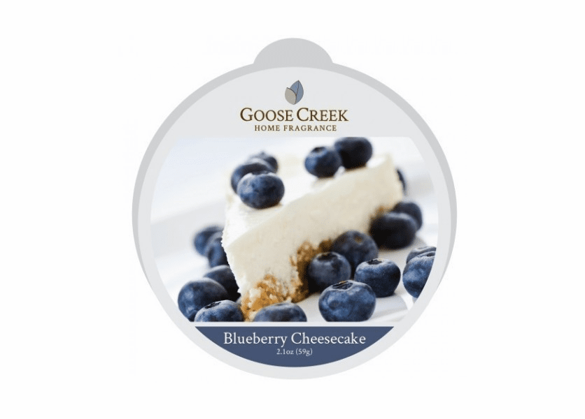 _DISCONTINUED - Blueberry Cheesecake Essential Series Goose Creek Wax Melt