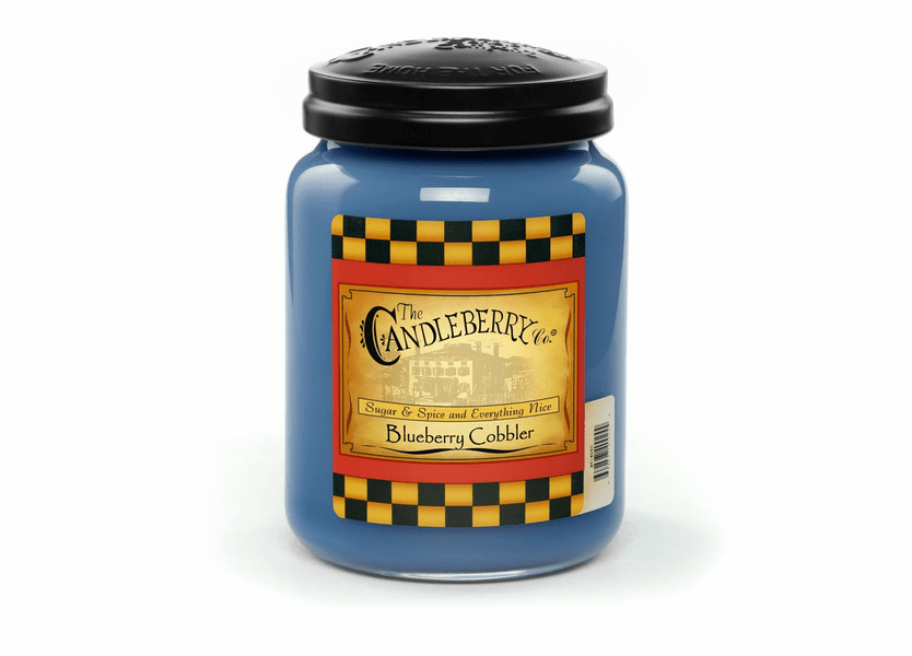 _DISCONTINUED - Blueberry Cobbler 26 oz. Large Jar Candleberry Candle