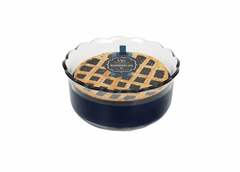_DISCONTINUED - Blueberry Pie WoodWick Pie Collection Candle