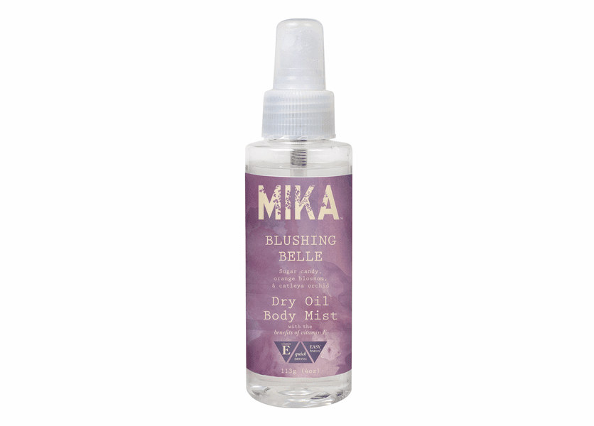 _DISCONTINUED - Blushing Belle MIKA Dry Oil Body Mist