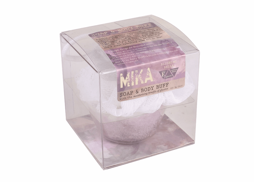 _DISCONTINUED - Blushing Belle MIKA Soap & Body Buff