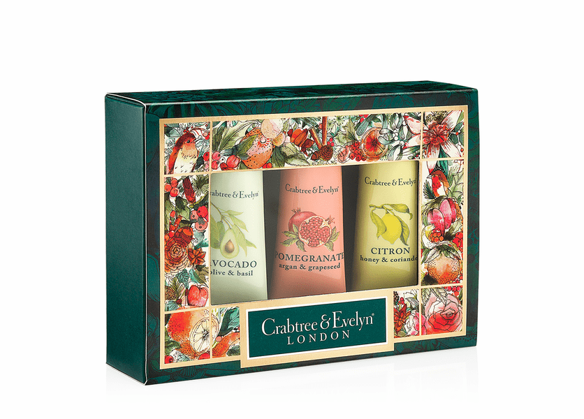 _DISCONTINUED - Botanicals Sampler (Set of 3) - Holiday Collection by Crabtree & Evelyn