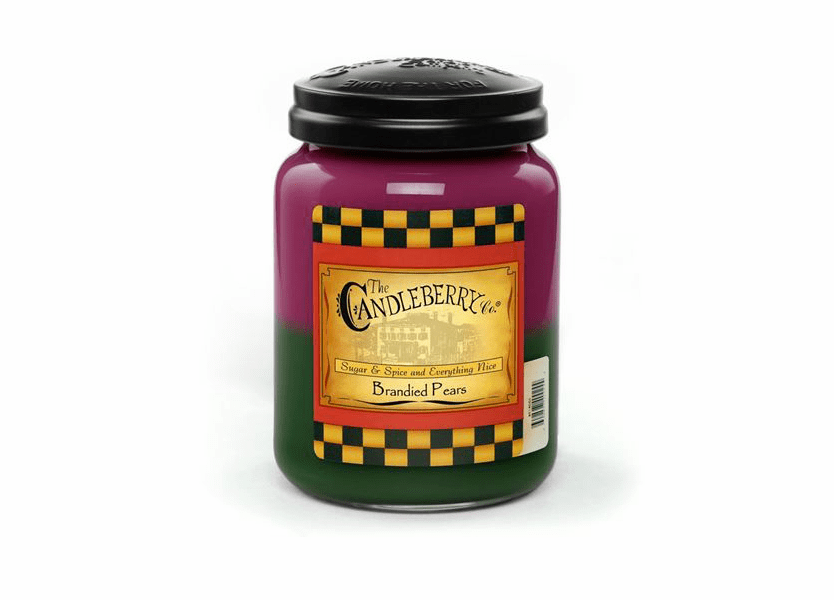 _DISCONTINUED - Brandied Pears 26 oz. Large Jar by Candleberry