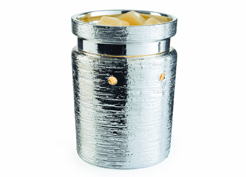 _DISCONTINUED - Brushed Chrome Illumination Fragrance Warmer
