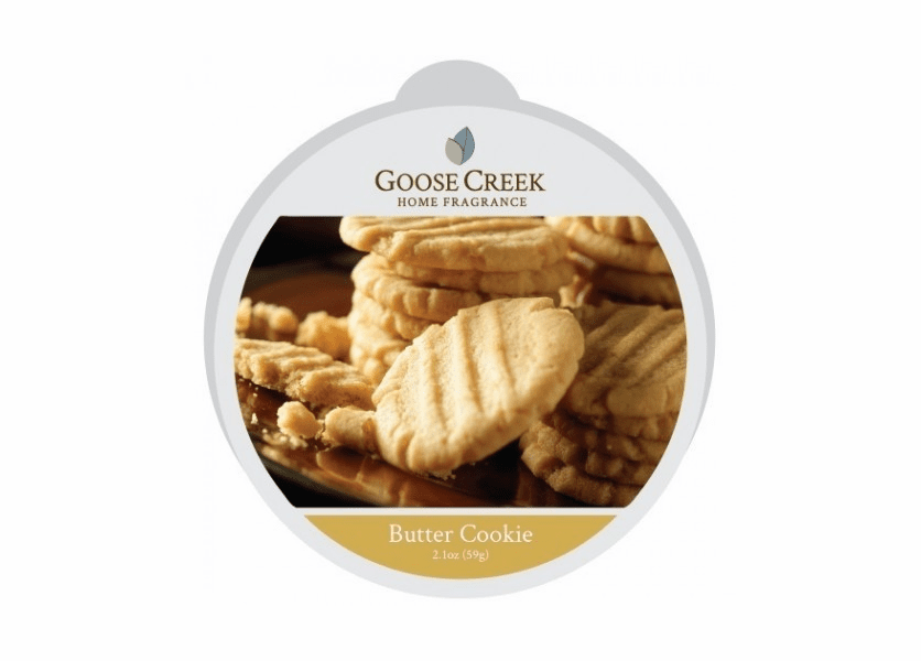 _DISCONTINUED - Butter Cookie Essential Series Goose Creek Wax Melt