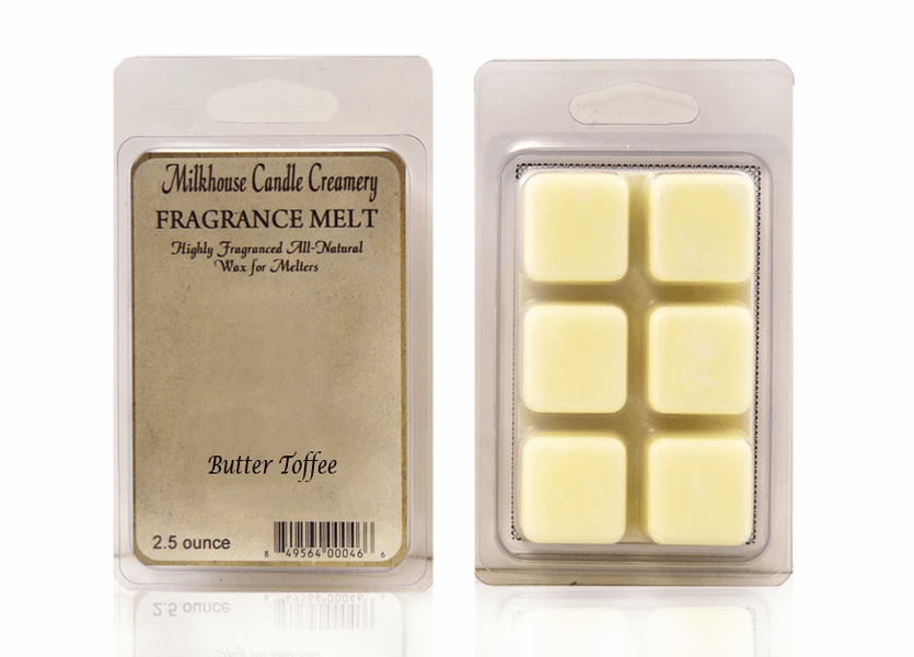 _DISCONTINUED - Butter Toffee Fragrance Melt by Milkhouse Candle Creamery