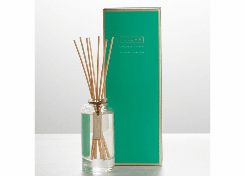 _DISCONTINUED - Cactus Verde Essential Reed Diffuser Illume Candle