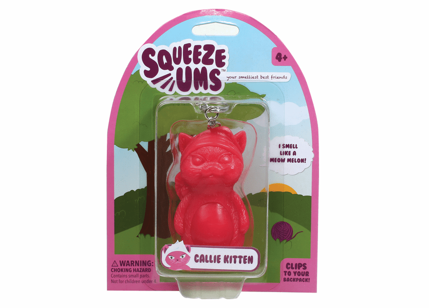 _DISCONTINUED - Callie Kitten WoodWick Squeeze Ums Meow Melon scent