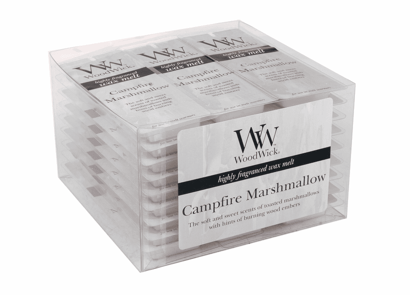 _DISCONTINUED - Campfire Marshmallow WoodWick Wax Melt