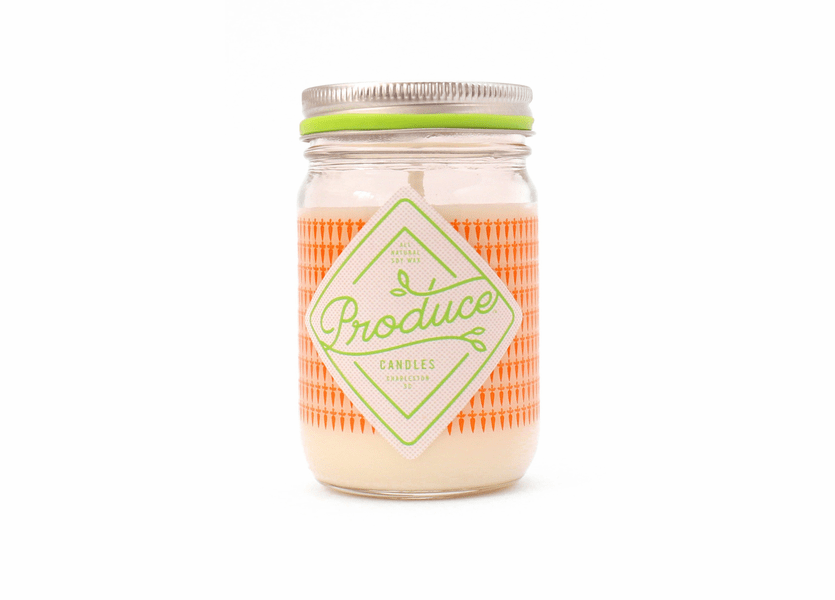 _DISCONTINUED - Carrot 9 oz. Produce Candle