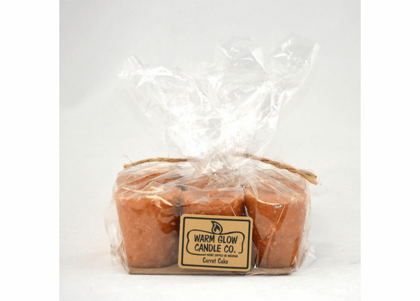 _DISCONTINUED - Carrot Cake 6-Pack Votive by Warm Glow Candles