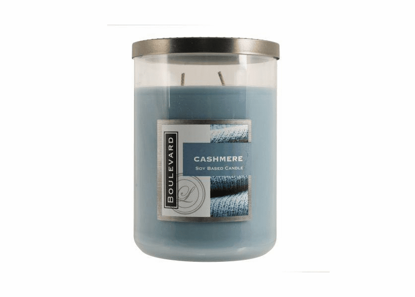 _DISCONTINUED - Cashmere 22 oz. Jar Candle by Boulevard