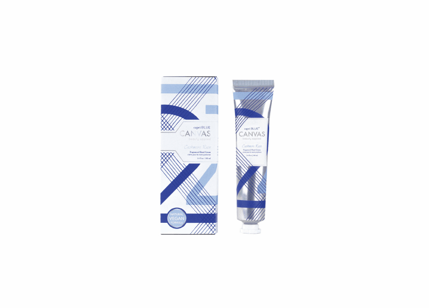 _DISCONTINUED - Cashmere Rain 3.4 oz. Canvas Collection Hand Cream by Capri Blue